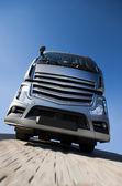 Grey truck — Stock Photo