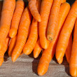 Carrots on sale — Foto Stock