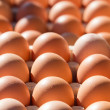 Eggs on sale — Stock Photo