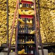 Stock Photo: Corncob elevator