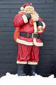 Santa Claus statue — Stock Photo