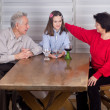 Girl with grandparents — Stock Photo #38659881