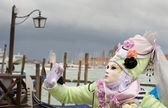 Maski karnawał w Wenecji — Zdjęcie stockowe