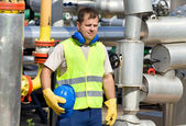 Oil worker — Stock Photo