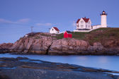 Nubble Lighthouse — Stock Photo