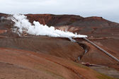 Geothermal plant — Stock Photo