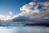 Jökulsárlón, South Iceland — Stockfoto