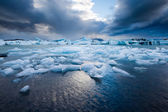 Jökulsárlón, South Iceland — Stock Photo