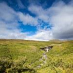wodospad svartifoss — Zdjęcie stockowe