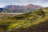 Landmannalaugar, South Iceland — Stock Photo