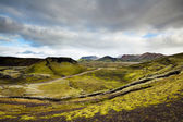 Landmannalaugar, Jižní Island — Stock fotografie