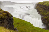 Gullfoss-wasserfall — Stockfoto