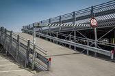 Prefabricated parking — Stock Photo