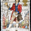 British Stamp - General Post, c 1839 — Stock Photo