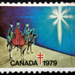 Stock Photo: Canadstamp 1979
