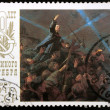 Soviet stamp 1987 5k — Stock Photo