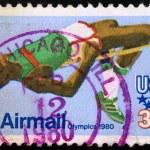 USA postage stamp - 1980 SUMMER OLYMPICS — Stock Photo #29882675
