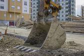 Excavator scoop — Stock Photo