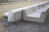 Sidewalk Gutter Construction 2 — Stock Photo