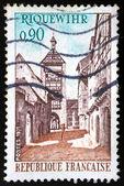 French stamp, Riquewihr 1971 — Stockfoto