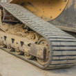 Stock Photo: Excavator caterpillar 2
