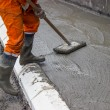 concrete screeding 2 — Stockfoto