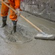Concrete Screeding 3 — Foto Stock