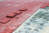 Rubber Brick Pavers 2 — Stock Photo