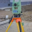 Total station at construction site - land surveying instrument 2 — Stock Photo #33117911