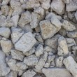 Crushed concrete wall background — Stock Photo #34360293