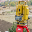 Stock Photo: Total station on tripod 2