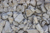 Crushed concrete wall background — Stock Photo