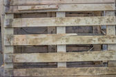 Used wooden pallets background — Stock Photo