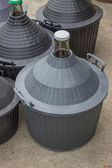 Pile of gallons for water and wine 4 — Stock Photo