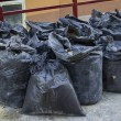 Construction waste in builders waste bags — Stock Photo #39298001