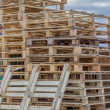 Stacks of Wood Pallet Ready For Reuse 2 — Stock Photo