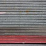 Vintage metal roll up door 2 — Stock Photo #42861141