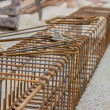 Steel cage construction — Stock Photo #47449579