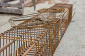 Steel cage construction — Stock Photo