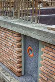 Protection and drainage of walls 2 — Stock Photo