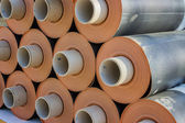 Rolls of insulation material 2 — Stock Photo