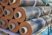Rolls of insulation material 3 — Stock Photo
