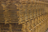 Stack of rebar grids 3 — Stock Photo