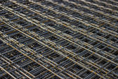 Stack of rebar grids  — Stock Photo