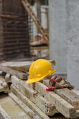 Safety at construction site — Stock Photo