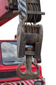 Heavy Truck Crane — Stock Photo