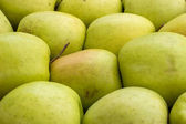 Farmers market apples background 2 — Stock Photo