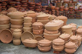Clay ware for sale 2 — Stock Photo