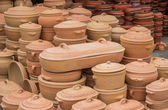 Clay ware for sale — Stock Photo