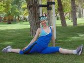 Sporty woman N 17. — Stock Photo